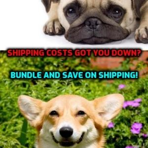 Other - Shipping is expensive! Buy 2+ items and save!